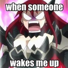 New funny anime memes fairy tail erza scarlet ideas Fairy Tail Meme, Fairy Tail Quotes, Fairy Tail Comics, Otaku Anime, Tsurezure Children, Fairy Tail Erza Scarlet, Fairy Tale Anime, Fariy Tail, Funny Memes