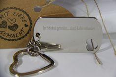 Schlüsselanhänger - Schlüsselanhänger mit Gravur - ein Designerstück von Margit-89 bei DaWanda