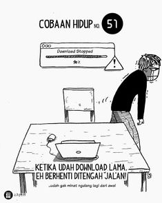 Komik Biebo: Cobaan Hidup by Komik Biebo Best Quotes, Nice Quotes, Cartoon Jokes, Slice Of Life, Humor, Memes, Movie Posters, Note, Future