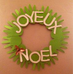 Original Christmas wreaths - Trendy Home Decorations Preschool Christmas, Christmas Activities, Christmas Crafts For Kids, Christmas Wreaths, Christmas Decorations, French Christmas, Simple Christmas, Ideas Geniales, Theme Noel