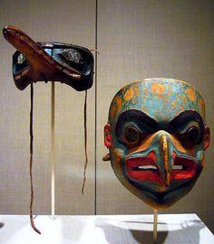 Tlingit ceremonial masks Alaska