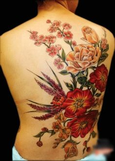 Flower Tattoo Gallery Part 1 #flower #tattoo