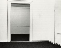 Mel Bochner, Measurement, 1969:  Bochner measured the empty gallery and marked off the numbers with tape. Institutional critique of the gallery itself as a social system and a cultural construction. What happens when you remove the traditional elements of the gallery, that is, the artworks, and reduce the space only to simple measurements and numbers. How does the viewer's reaction to the space change when interacting with this piece vs. more traditional artworks?
