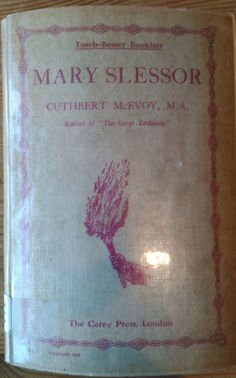 Mary Slessor was recently featured in an on-line list of sixinspiring Christian missionaries, so I thought I would take a brief break from uploading CMS books to include this slim volume: Cuthbert McEvoy [1870-1944], Mary Slessor, 6th edn. London: The Carey Press, n.d. Pbk. pp.63. Click to download complete book in PDF. Mary Slessor served ... Read more...