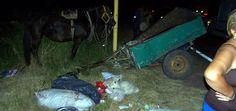 Violento choque entre una camioneta y un carro en la Ruta A009