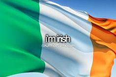Well, I have a lot of Irish in me..that's where I get my red high lights in my hair and freckles. :)
