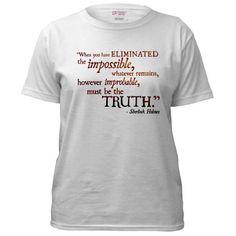 Impossible Sherlock t-shirt