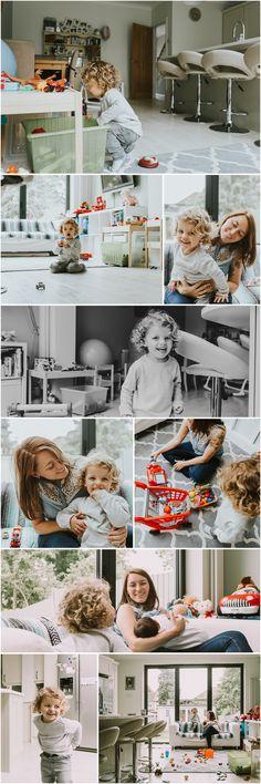 At Home Family Documentary Photo Shoot - Newborn Baby & Toddler • Alina Clark Photography