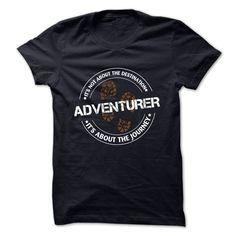 ADVENTURER T-Shirts, Hoodies. Get It Now ==> https://www.sunfrog.com/LifeStyle/ADVENTURER-62031060-Guys.html?id=41382
