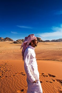 In the Wadi Rum