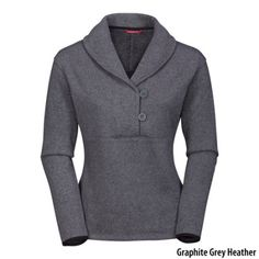North Face shawl sweater