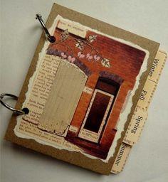Garden Journal cover & seasonal dividers