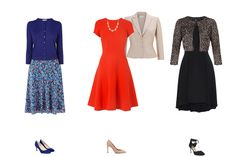 what to wear pear shape, dresses and skirts for pear shape