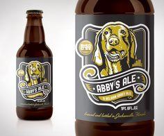 Abby's Ale          #dog    --- wonder what this stuff tastes like?