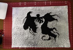 13 Woodhouse Road: Harry Potter quilt