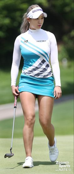 Girls Golf, Ladies Golf, Golf Specials, Sexy Golf, Golf Player, Golf Wear, Sporty Girls, Golf Fashion, Golf Outfit