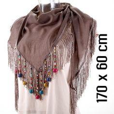Beaded scarf