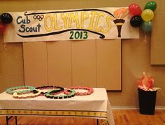 Cub Scout Olympics Blue & Gold