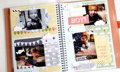 Mój mały chłopiec / My little boy - - Say hello to your creativity Litle Boy, Frame It, Say Hello, Notebooks, Overlays, Albums, Envelope, Scrapbooking, Memories