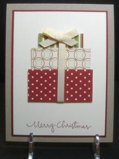 Simple Christmas Cards, Homemade Christmas Cards, Homemade Cards, Holiday Cards, Christmas Crafts, Christmas Christmas, Minimal Christmas, Christmas Birthday, Christmas Presents