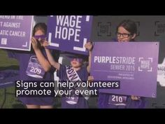 Planning a charity event? Learn how you can build interest, promote your cause and more with signs and graphics.