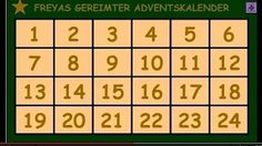 Hier gehts zum Online-Adventskalender ►► https://youtu.be/PMayPgTdDRU .......................................................................Adventskalender, Video-Adventskalender, Online-Adventskalender, gereimter Adventskalender, Adventsgedichte, Advents-Gedichte, Adventskerze, Advents-Video, Adventsvideo, Adventskalender-Video, Video-Clip Adventskalender, mit Laptop und PC klickbare Tabelle Video-Adventskalender,