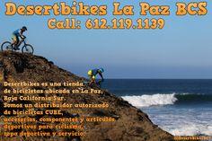 Desertbikes es una tienda de bicicletas ubicada en La Paz, Baja California Sur. Somos un distribuidor autorizado de bicicletas CUBE, accesorios, componentes y artículos deportivos para ciclismo, ropa deportiva y servicio.