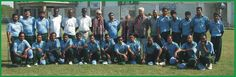 Ex. International Cricket Umpire Mehboob Shah with Mr. & Mrs. Ashraf Ali (USA) with Karachi Disable Cricket Team. 1st Nov. 2009.