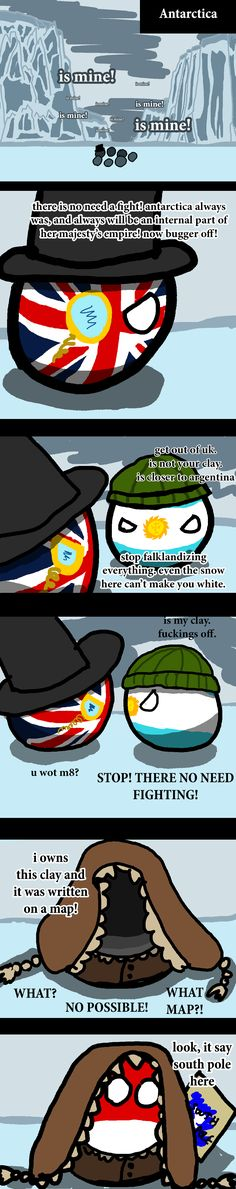 Polandball » Polar Claims