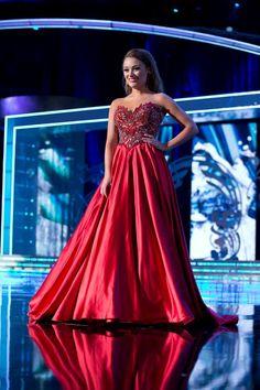 Miss america evening dresses