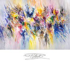 Acrylmalerei - Gemälde 150 x 100 cm Acrylgemälde Bild Original - ein Designerstück von Peter-Nottrott bei DaWanda