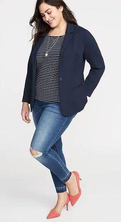 c5e43271f 21 Best Plus Size Blazer images in 2017 | Plus Size Fashion, Curvy ...