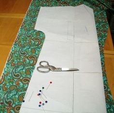 Making Of A Hospital Gown