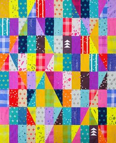 Handcrafted - Bright Like a Diamond Quilt