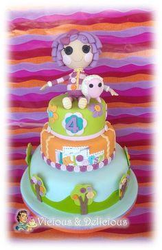 """Lalaloopsy cake for my """"Ilaloopsy""""!"""