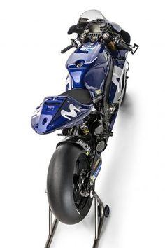 Here Is Movistar Yamaha& 2018 MotoGP Livery - Asphalt & Rubber Yamaha Helmets, Yamaha Bikes, Yamaha R1, Triumph Motorcycles, Custom Motorcycles, Custom Baggers, Bobbers, Ducati, Motocross