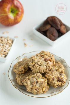 Vegane Kekse ohne Zucker: Clean Eating Cookies und lgesunde Kinderkekse in einem! | http://www.backenmachtgluecklich.de