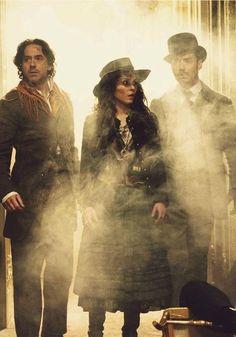 """Sherlock Holmes: A Game of Shadows"" (Robert Downey Jr., Noomi Rapace, Jude Law)"
