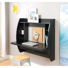 Floating Desk With Storage   Overstock.com Shopping   The Best Deals On  Desks