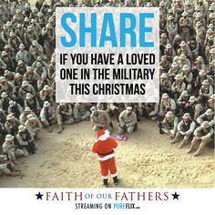 Do you have a loved one in the #military this #Christmas? Share with us your tips for getting through it.
