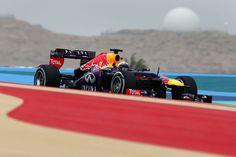 Sebastian Vettel Qualifiche  GP Bahrain 2013