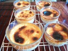 Jericallas (from Guadalajara, Jalisco, Mexico).  Video in Spanish; recipe below:  4 c. milk (half and half works well!)  1/2 c. sugar (or 1/4 c. honey)  2 cinnamon sticks  4-6 egg yolks (4 eggs if using extra large)  Bake in water bath at 400 degrees for 30-45 minutes.  Cool, refrigerate and enjoy!  Best served cold!