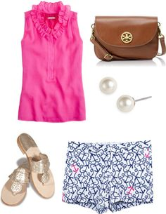 Cute for a nice summer day! All it needs is a messy bun and sunglasses!