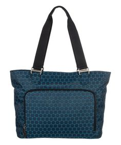 This Dolphin Jacquard Dahlia Tote by baggallini is perfect! #zulilyfinds