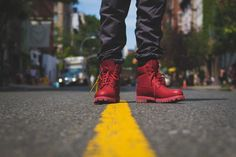 Bee Line x Timberland Red Boot Release