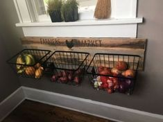 47 Elegant Diy Storage Rack Ideas For Small Kitchen. The building blocks of the heart of homes, kitchen cabinets are among the major features that are mainly involved in most remodeling projects. Kitchen Rack, Kitchen Wall Art, Kitchen Storage, Kitchen Decor, Kitchen Design, Kitchen Ideas, Kitchen Organization, Kitchen Cabinets, Produce Storage