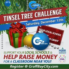The Tinsel Tree Challenge at Graff Bay City