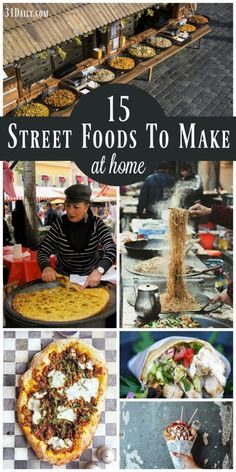 Traveling the World with Street Food Recipes to Make at Home