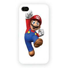 Mario Bros Hard Cover Case iPhone WORLDWIDE SHIPPING!!