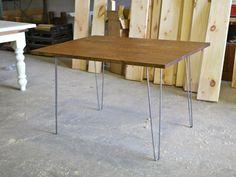 Modern industrial table  www.twinmanordesigns.com